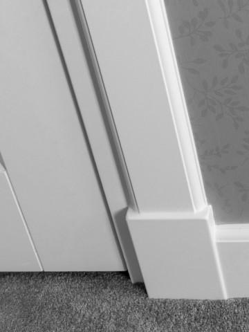 Geliefde Neut - MDF plintneuten - Maken plint en deurlijst mooier WJ74
