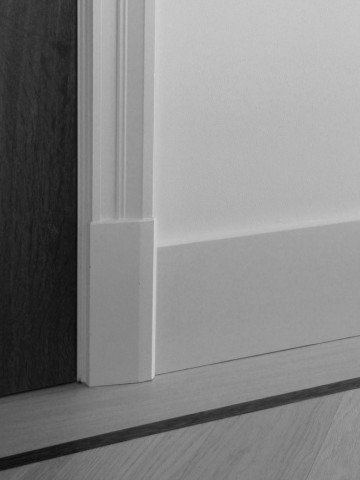 Magnifiek Neut - MDF plintneuten - Maken plint en deurlijst mooier #UW46