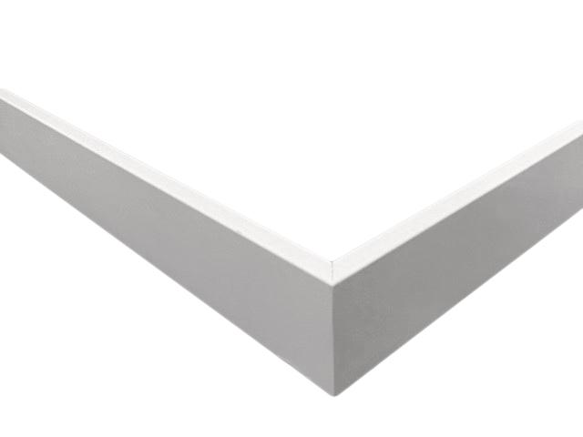 Rechte mdf plint mm gegrond plafondplinten